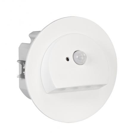 Ledix - oprawa LED Rubi PT 230V biała czujnik Zamel