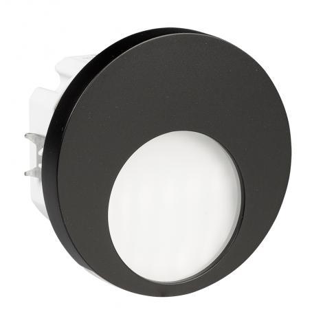 Ledix - oprawa LED Muna PT 230V czarna Zamel