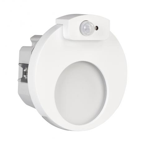 Ledix - oprawa LED Muna PT 230V biała czujnik Zamel