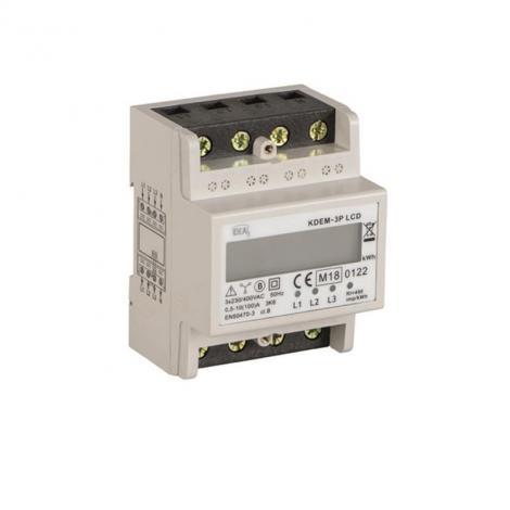Licznik energii elektrycznej KDEM 3P LCD Kanlux Ideal Kanlux