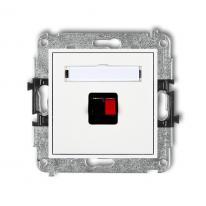 Karlik Mini biały - gniazdo głośnikowe x1 (2,5mm2) - MGG-1 Karlik