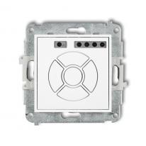 Karlik Mini biały - elektroniczny sterownik roletowy - MSR-2 Karlik