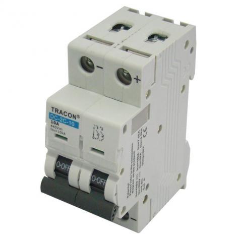 Wyłącznik nadprądowy fotowoltaiczny 2P C63 DC Tracon Tracon Electric