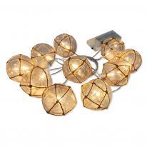 Hurtownia elektryczna Girlanda ogrodowa LED na baterie Ahne Polux 312938