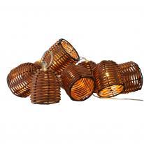 Hurtownia elektryczna Girlanda ogrodowa LED na baterie Korg Polux 313034
