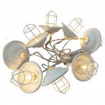 Hurtownia elektryczna Girlanda ogrodowa LED na baterie Loft Polux 312877