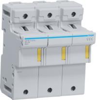 Modułowa podstawa bezpiecznikowa 3P 125A 690V LR703 22x58mm Hager
