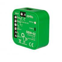 Supla - sterownik bramowy dopuszkowy 2-kanałowy Wi-Fi SBW-02 Zamel