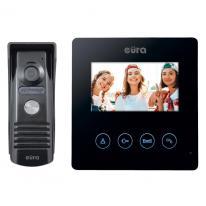 Wideodomofon jednorodzinny EURA ATIRA VDP-52A3 czarny Eura-Tech