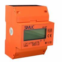 Licznik energii elektrycznej 3-fazowy LS3-F MID Simlic Simet
