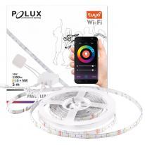 TUYA SMART Wi-Fi Taśma LED 5m NW+RGB 16W 1350lm funkcja muzyczna 313928 Polux