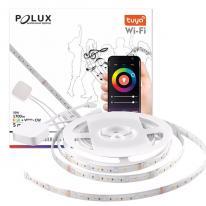 TUYA SMART Wi-Fi Taśma LED 5m WW-CW+RGB 20W 1700lm funkcja muzyczna 313911 Polux