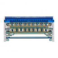 Blok rozdzielczy 2-rzędowy, 11 przewodów OR-LZ-8201/11 Orno