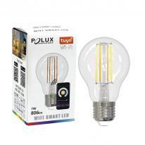 TUYA SMART Wi-Fi Żarówka LED filament E27 7W 806lm WW-CW 313836 Polux