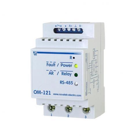 Ogranicznik mocy z miernikiem parametrów sieci OM-121 Novatek Electro