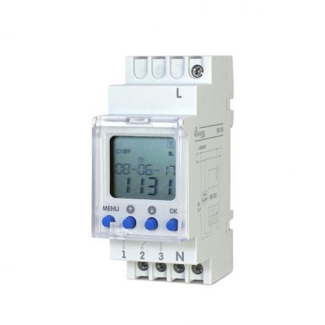 Zegar programowalny wielofunkcyjny 16A REV-225 Novatek Electro