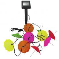 Girlanda ogrodowa LED solarna Parasolki 311559 Polux