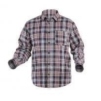 ILLER koszula granatowa/czerwona krata L (52) Hogert